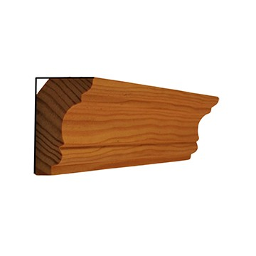 Corniche en bois pas cher for Moulures en bois decoratives