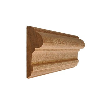 Cimaise 23x70 exotique for Moulures en bois decoratives